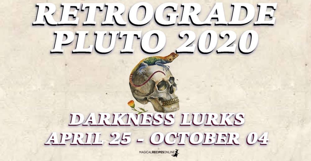 Retrograde Pluto 2020
