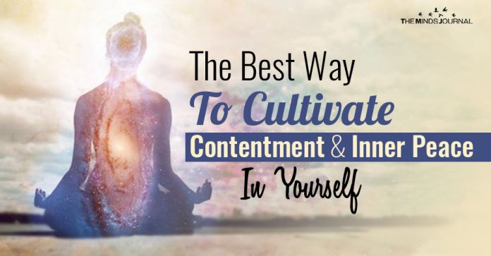 The Best Way To Cultivate Contentment And Inner Peace In Yourself