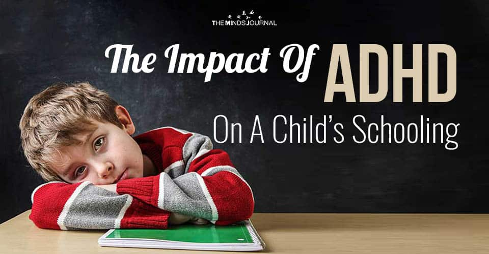 The Impact Of ADHD On A Child's Schooling