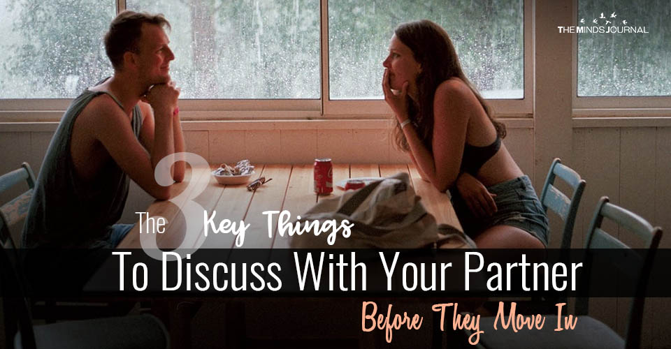 Things To Discuss With Your Partner
