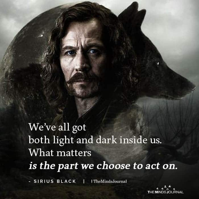 We've all got both light and dark inside us