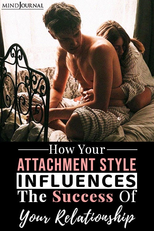 attachment style influences the success pin