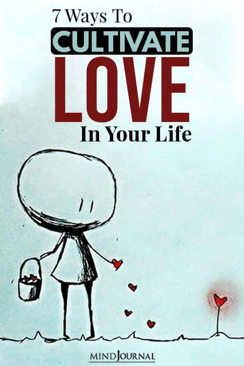 cultivate love in your life pin
