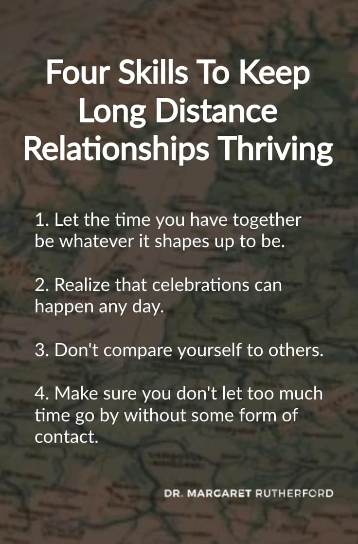 Four skills to keep long-distance relationships thriving
