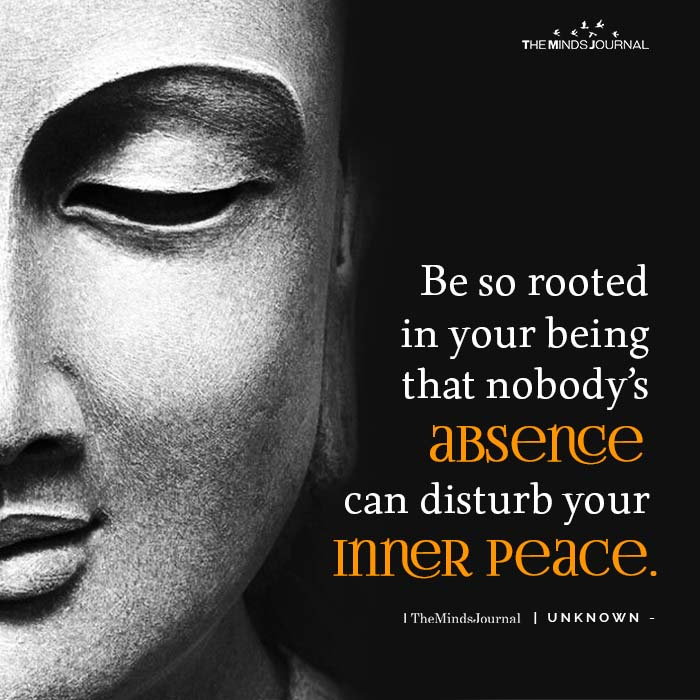 Be So Rooted In Your Being