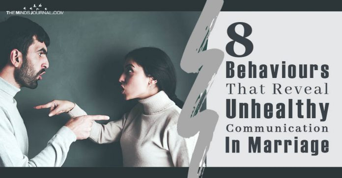 Behaviours That Reveal Unhealthy Communication In Marriage
