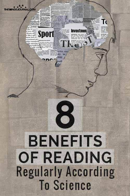 Benefits Of Reading Regularly pin