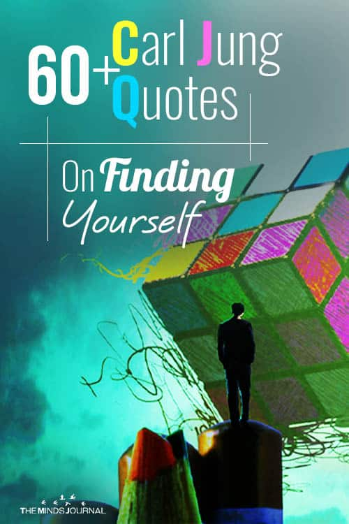Carl Jung Quotes On Finding Yourself pin