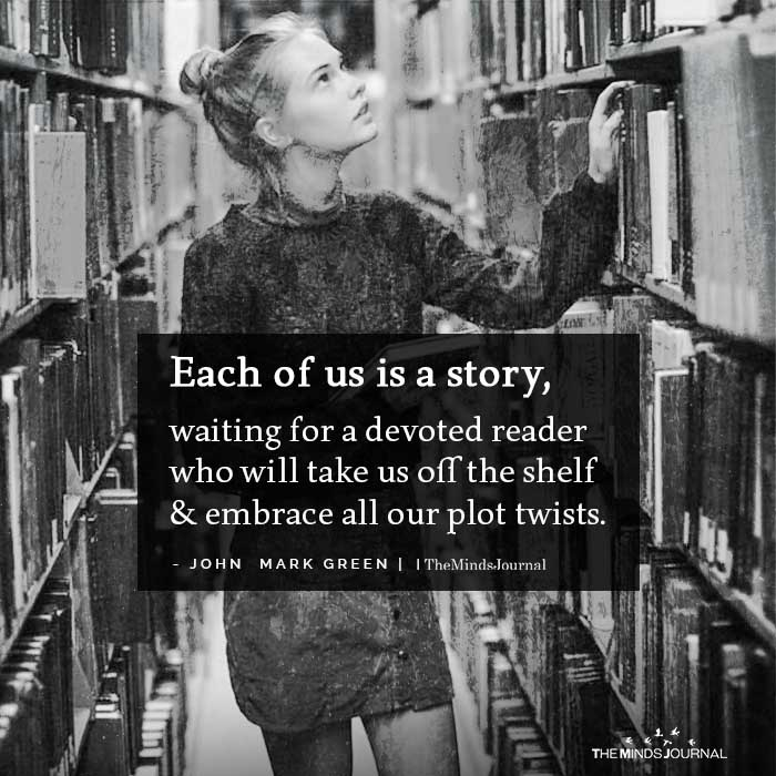 Each of us is a story