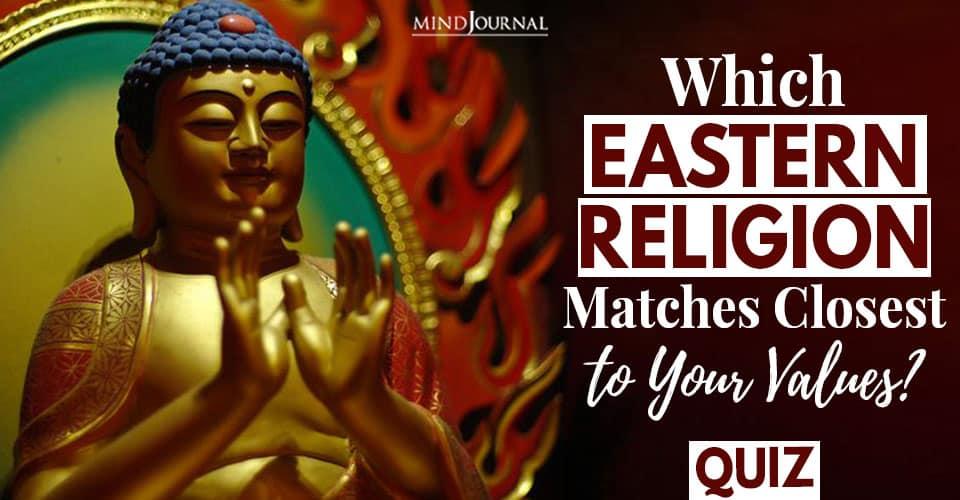Eastern Religion Matches Quiz