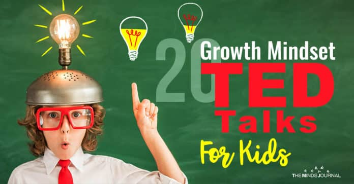 Growth Mindset Ted Talks For Kids
