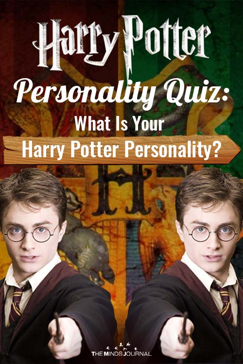 Harry Potter Personality Quiz pin