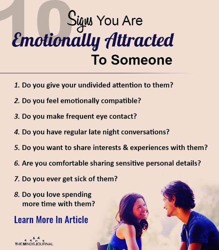 Honest Signs Emotional Attraction