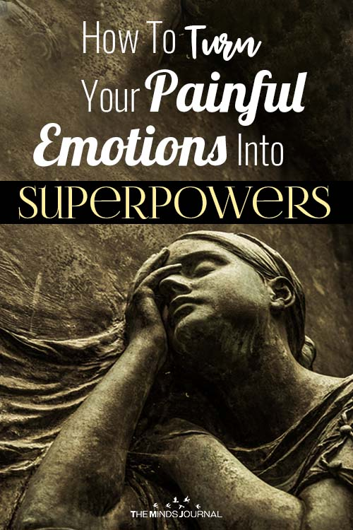 How To Turn Your Painful Emotions Into Superpowers pin