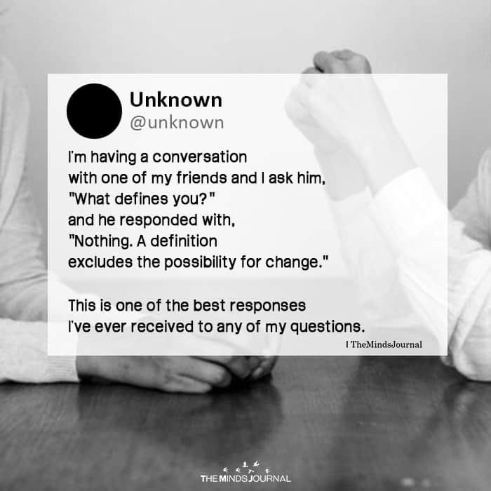 I'm Having A Conversation