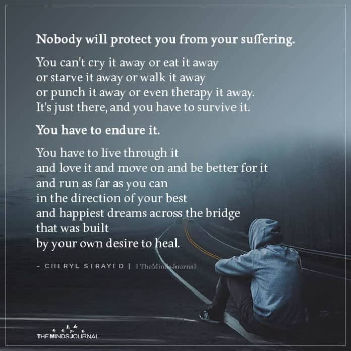 Nobody will protect you