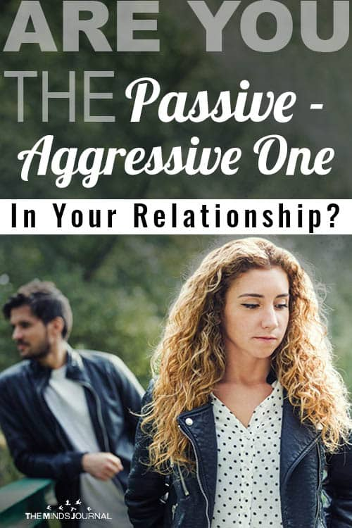 Are you Passive Aggressive One In Your Relationship pin