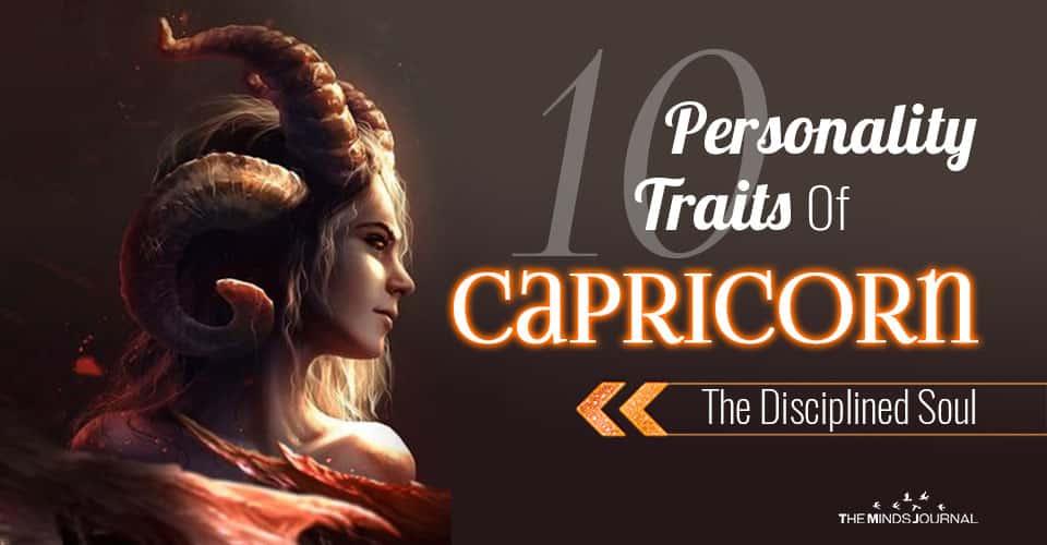 Personality Traits Capricorn