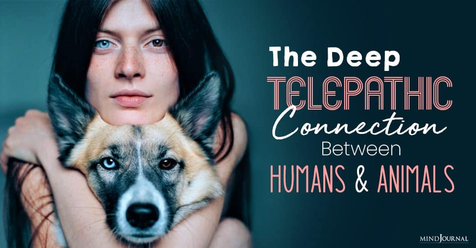 Telepathic Connection Between Humans and Animals