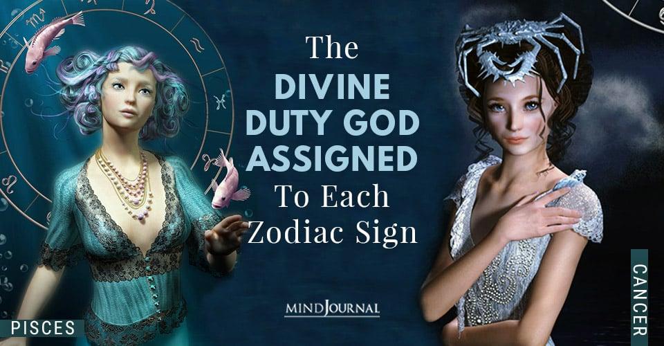 Divine Duty Assigned Zodiac Sign