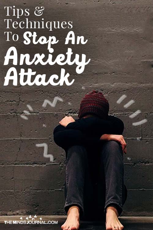 Tips To Stop An Anxiety Attack Pin