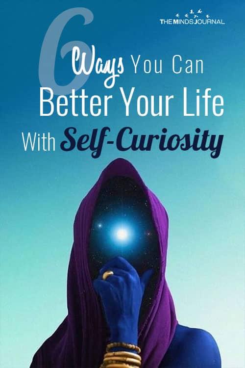 Ways Better Life Self Curiosity pin