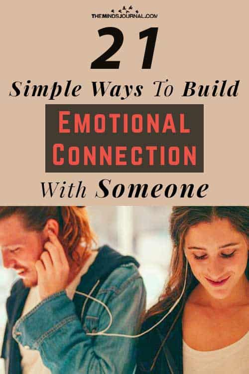 Ways Build Emotional Connection pin