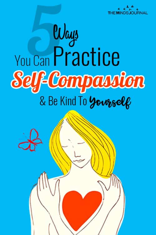 Ways Practice Self Compassion pin