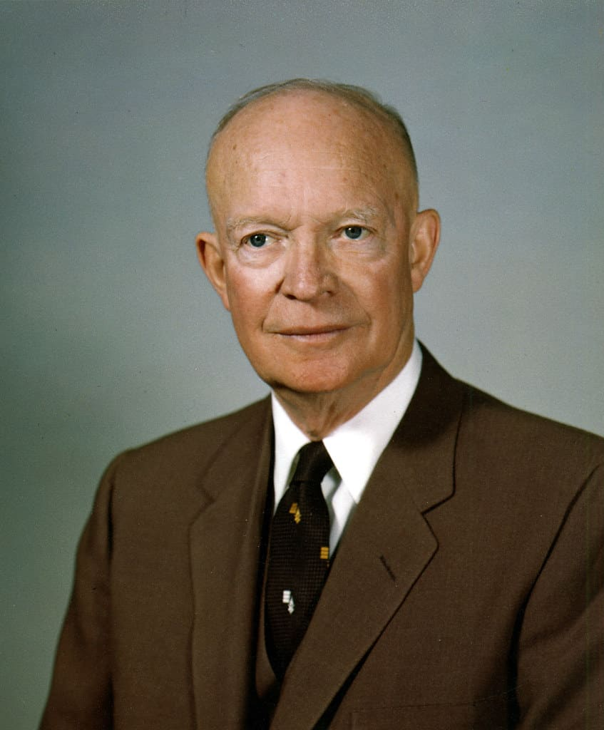 34th U.S. President Dwight D. Eisenhower
