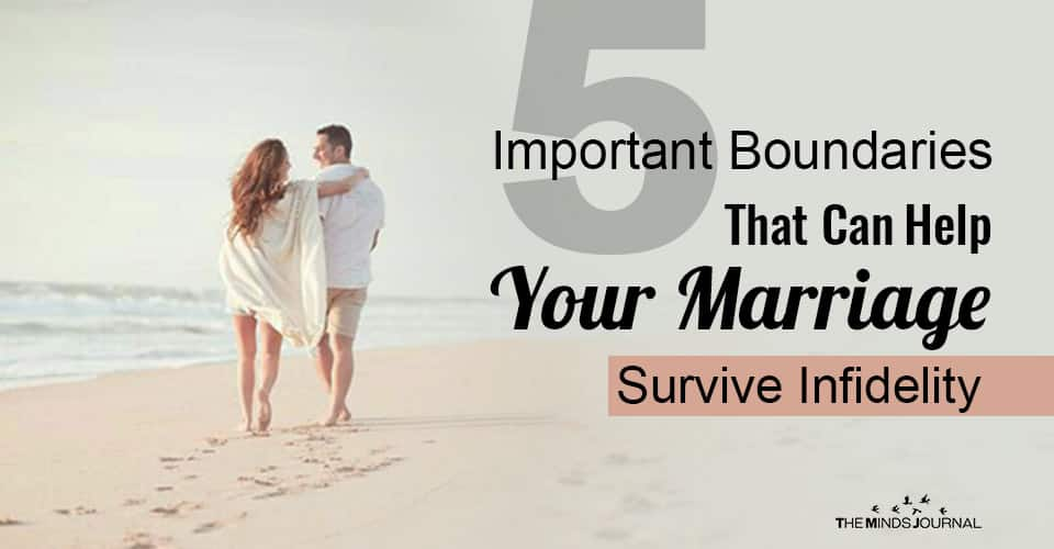 Boundaries Help Marriage Survive Infidelity