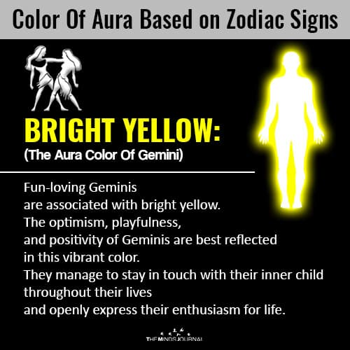 The Color Of Your Aura Based On Your Zodiac Sign