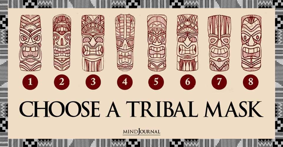 Choose Tribal Mask Reveal Kind Of Person You Are