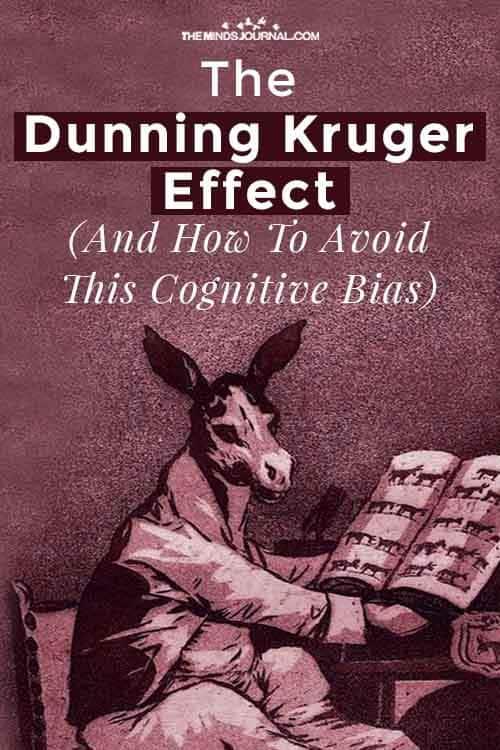Dunning Kruger Effect pin