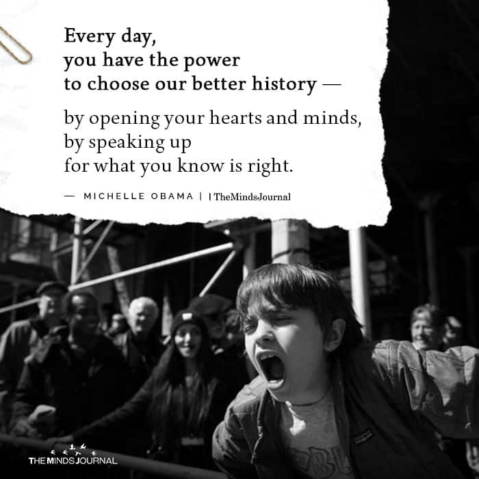 Every day you have the power to choose