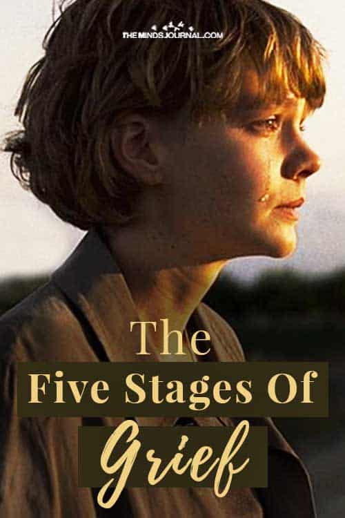 Five Stages Grief Exploring The Kübler Ross Model Pin