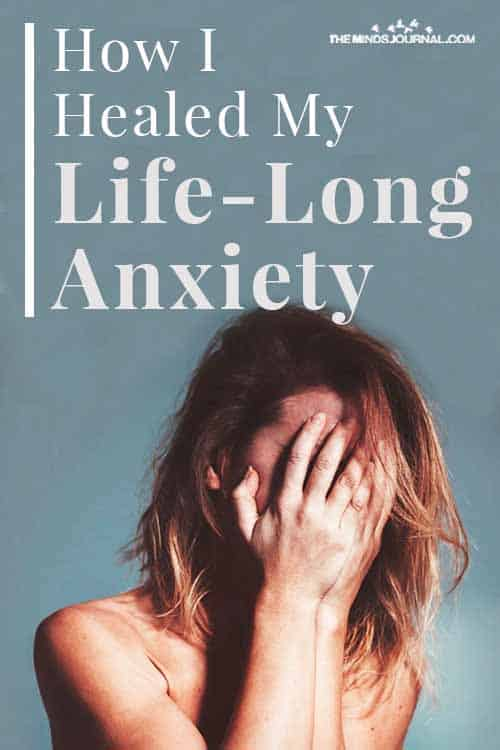 Healed My Life Long Anxiety Pin