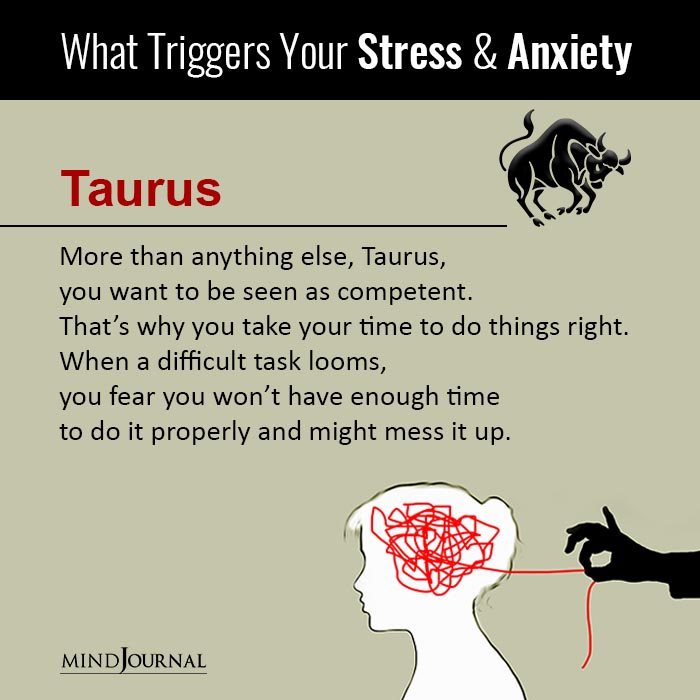 What Triggers Your Stress and Anxiety, Based On Your Zodiac Sign