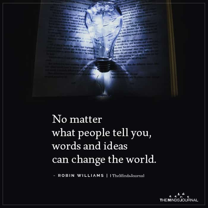 No matter what people tell you