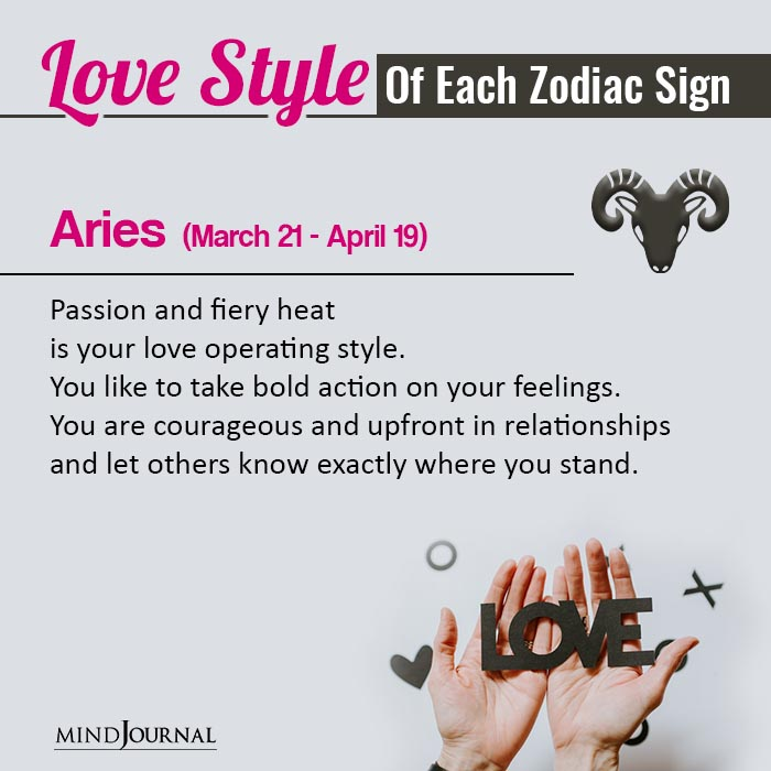 Your Love Style Based On Your Zodiac Sign