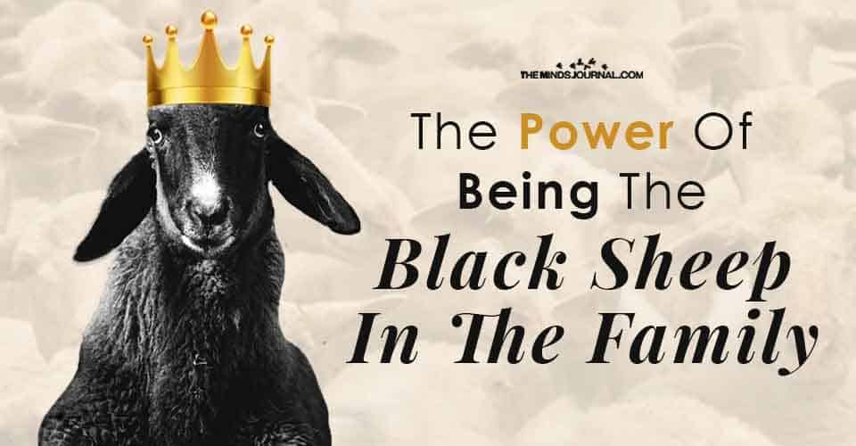 Power Of Being Black Sheep In Family
