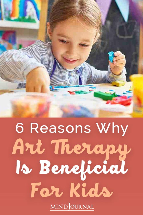 Reasons Art Therapy Beneficial Kids Pin
