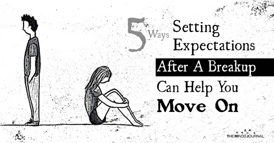 Setting Expectations After Breakup Help Move On