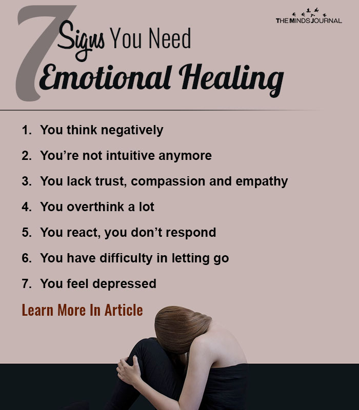7 Signs You Need Emotional Healing