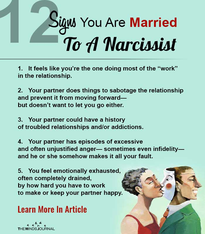 Are You Married to a Narcissist? 12 Easy Ways To Know for Sure
