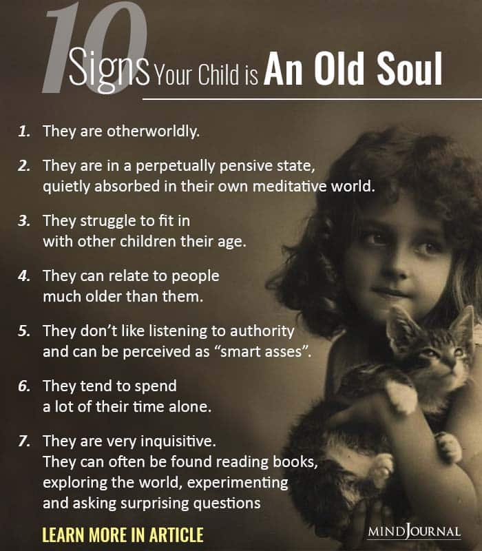 Signs Your Child is Old Soul