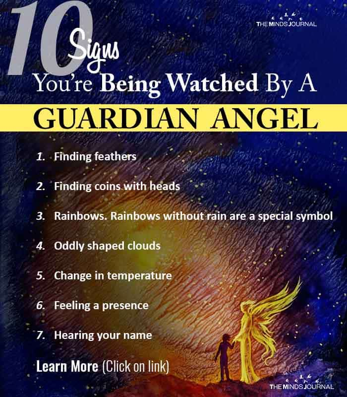 10 Signs You're Being Watched By A Guardian Angel