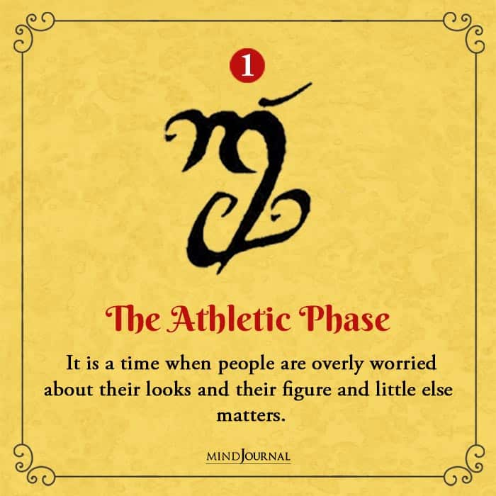 Symbol Reveal Phase of Life You Have Entered athletic