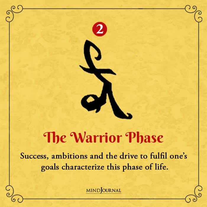 Symbol Reveal Phase of Life You Have Entered warrior