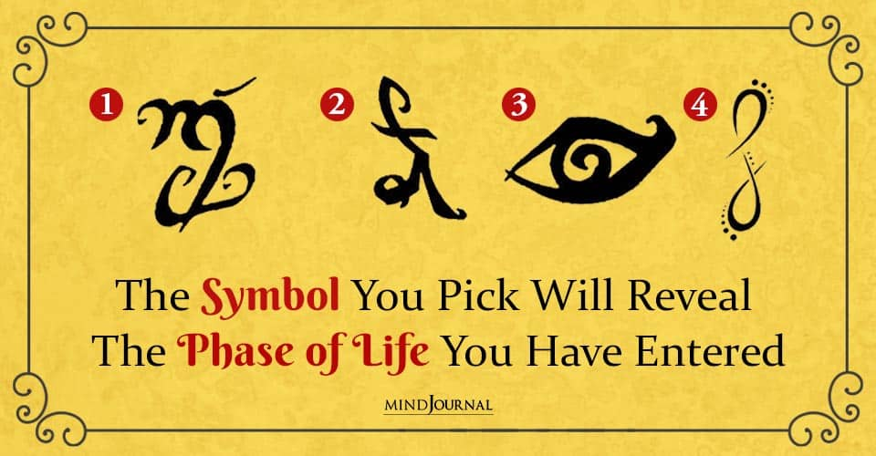 Symbol Reveal Phase of Life You Have Entered