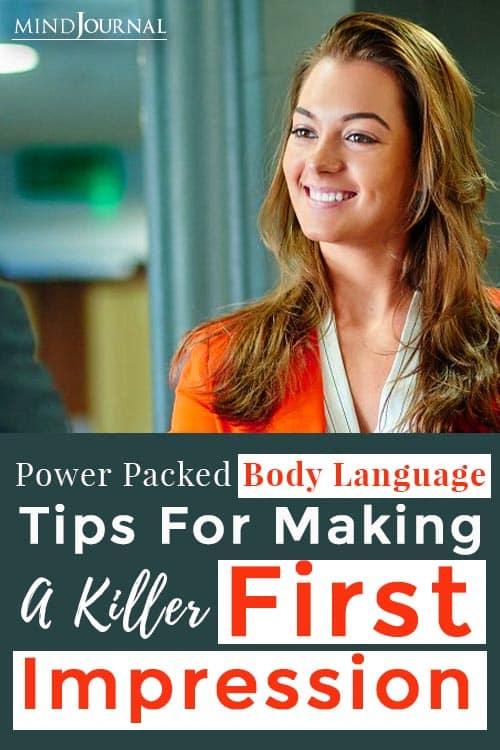 Tips Making Killer First Impression Pin